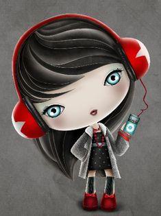 Ilustración del ilustrador Luciana Feldchtein de la Agencia de Ilustración Luisannet: www.luisan.net/ilustracion.php