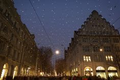 Christmas illumination Lucy over the Bahnhofstrasse, Zurich, Switzerland. Christmas Lights, Christmas Time, Cologne, Switzerland, Cathedral, Photography, Travel, Christmas Fairy Lights, Photograph