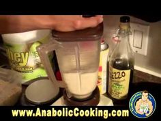 Anabolic Cooking - High Protein Peanut Butter Crepes