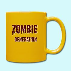 Terrasius   Zombie Generation - Tasse einfarbig