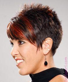 Short Spiky Hairstyle   2015 Best Hair Styles