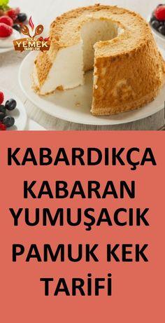 Sponge cake recipe that swells as soft as cotton swells. Sponge Cake Recipes, Cookie Recipes, Cakes Today, Cake Blog, Turkish Recipes, Beautiful Cakes, Yummy Cakes, Cake Designs, Vanilla Cake