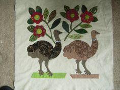 Ostrich block