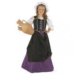 #Disfraz de #Mesonera #Medieval #Infantil