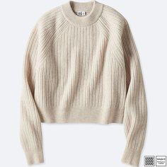 0f163254bb2bd UNIQLO Women s U Chunky Ribbed Mock Neck Sweater Fashion Sale