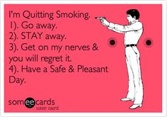 Would you like to give up your smoking addiction once and for all? Giving up smoking is not easy, and it requires a Quit Smoking Quotes, Quit Smoking Motivation, Help Quit Smoking, Giving Up Smoking, Smoking Addiction, Motivational Quotes, Funny Quotes, Anti Smoking, Smoking Weed
