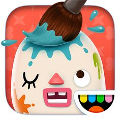 Toca Mini. Imagination can run wild in this awesome app from Toca Boca. Make a scary monster, your mom, or a new pet. The possibilities are  endless.