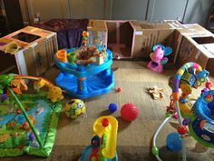 DIY Cardboard Tunnel - Great for Toddler/Baby/Kid birthday parties