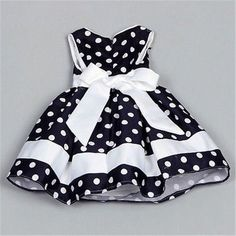She'll be the cutest and stylish girl in town with this princess party dress girl Blue Polka Dot Dress For Girls Dresses Kids Girl, Kids Outfits, Children Dress, Children Clothing, Dot Dress, Baby Dress, Girl Fashion, Fashion Kids, Dress Fashion