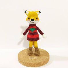 CROCHET PATTERN X-Mas Fox Amigurumi by SugarLYS