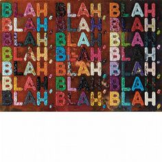Mel Bochner, 'Blah Blah Blah', 2014 - by Doyle New York #contemporary