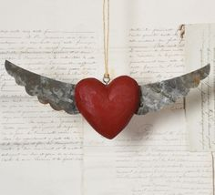 HomArt Heart With Tin Wings – Modish Store