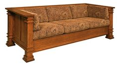 33% OFF Amish Sofas - Diamond Sofa Oak: Amish, Mission, & Shaker Sofas