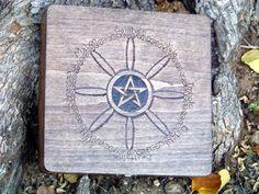 Sabbat Wheel Keepsake Box