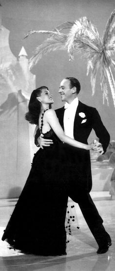 Rita Hayworth, Fred Astaire in You'll Never Get Rich (1941)