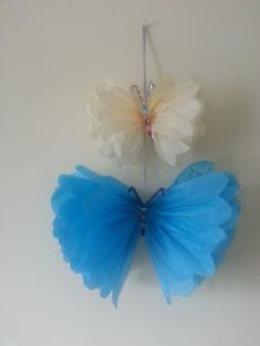 Wall garland 11 butterfly & 7 butterfly wedding by Ohsopretty37