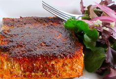 Blackened Sockeye Salmon - wild caught sockeye salmon fillets - canola or coconut oil - Blackened Spices - dried thyme - garlic powder - dried oregano - paprika - pepper - cayenne pepper - kosher or sea salt