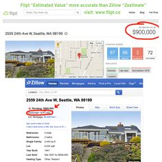 Is Flipt more accurate than Zillow? www.flipt.co