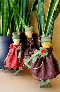 Магазинчик авторской куклы: Царевна лягушка и Ко