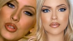 Christina Aguilera Nobody wants to be lonely makeup