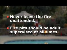 We want everyone to have a safe experience when they enjoy their fires. Following these tips will ensure that you and your loved ones have a safe and fun time with your #firepit #Tuesdaytip