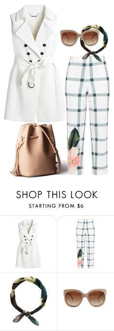 """AFTERNOON"" by stoian-ac on Polyvore featuring White House Black Market, Ted Baker, New Look and STELLA McCARTNEY"