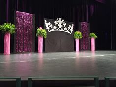 Staging for the Think Pink Benefit Pageant | Miss Charlottesville Pageant…