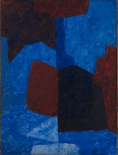 Serge Poliakoff (1900 - 1969), Composition rouge et bleue, 1965