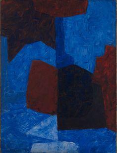 Serge Poliakoff (1900 - 1969)Composition rouge et bleue, 1965