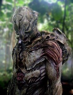 This is the prototype for Predator. They found it was to top heavy and the actor could barely move without falling forward.  A version of this was later in Predators as the River Ghost and was laying on the ground, it was a frustrating quick shot for fans!