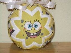 sponge bob quilted ornament