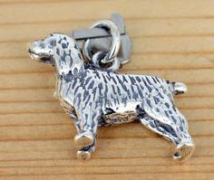 Anhänger Schmuck - 925 Silber    -English Cocker Spaniel Dog Hund