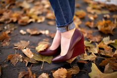 Sole Society Matte & Suede Wedges