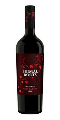 Primal Roots Red Blend: Varietal Blend: 43% Merlot, 37% Syrah and 20% Zinfandel. Tasting Notes: Aromas of mocha, black cherry, vanilla, and spice harmonized with rich flavors of raspberries, chocolate, and dark caramel. AVA: California