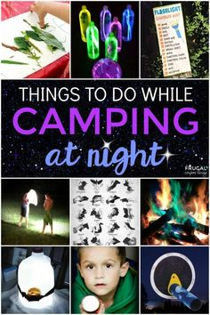 Overnight camping at night hacks, tips, and ideas. Things to do while camping at night, camping food hacks and recipes for your outdoor adventure.