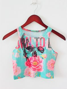 Novelty AA Style Print Women Tank Top Newest 2015 Summer Fashion Bustier Crop