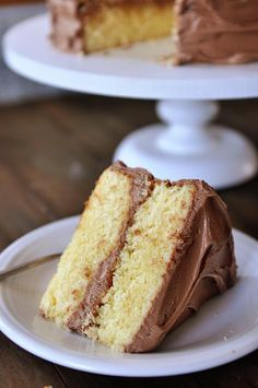 Perfected Yellow Cake (Mel's Kitchen Cafe - after she tested CIs, Smitten Kitchens, and Dave Lebowitz's)