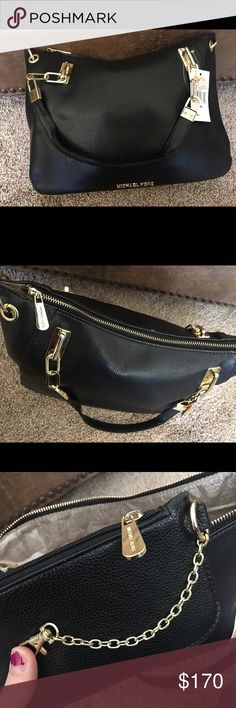 Michael Kors Purse Brand new with tags. I have more pictures if needed! 14 inches wide by 11 inches tall. Looks great!! Never used. I have the strap it came with as well to make it longer for crossbody! Also keychain MK it came with as well. Michael Kors Bags Shoulder Bags