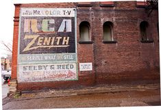 Selby & Reed ghost sign, Martins Ferry, Ohio