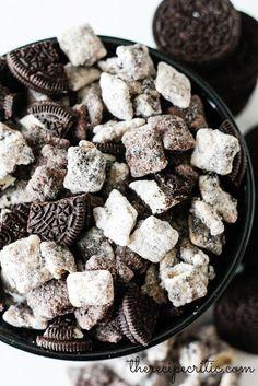 Cookies and Cream Muddy Buddies   The Recipe Critic