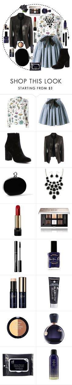 """""""The Woman In Me"""" by maria1991 ❤ liked on Polyvore featuring Boutique Moschino, Miu Miu, Witchery, Alexander McQueen, Halston Heritage, Lancôme, Givenchy, Chanel, Lauren B. Beauty and Clé de Peau Beauté"""