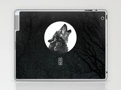 Into The Night Laptop & iPad Skin by Thömas McMahon - $25.00