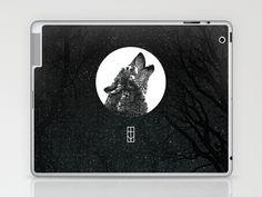 Into The Night Laptop & iPad Skin by Thömas McMahon - $25.00