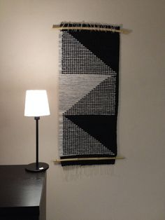 Woven wall hanging/Wall tapestry/Macrame by ElizaHomeDecoration