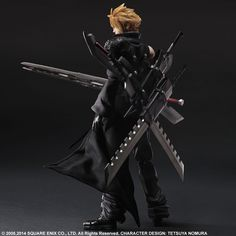 The heroes of FINAL FANTASY VII ADVENT CHILDREN make their appearance in the Play Arts KAI line! Cloud Strife is here as a fully articulated...