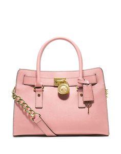 86126ca95e04 MICHAEL Michael Kors Handbag, Hamilton Saffiano Leather E/W Satchel - Shop  All Michael Kors Handbags & Accessories - Handbags & Accessories .