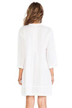 CP SHADES Regina Tunic Dress in White