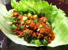 Minced Chicken with Lettuce Leaves by Gwyneth Paltrow – eat love glow