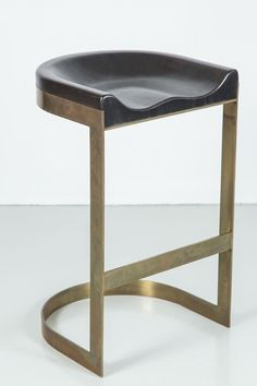 Walnut Saddle Stools offered by Orange Los Angeles on InCollect