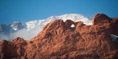kissing camels colorado springs | photo - The Kissing Camels in Garden of the Gods Thursday, February 7 ...